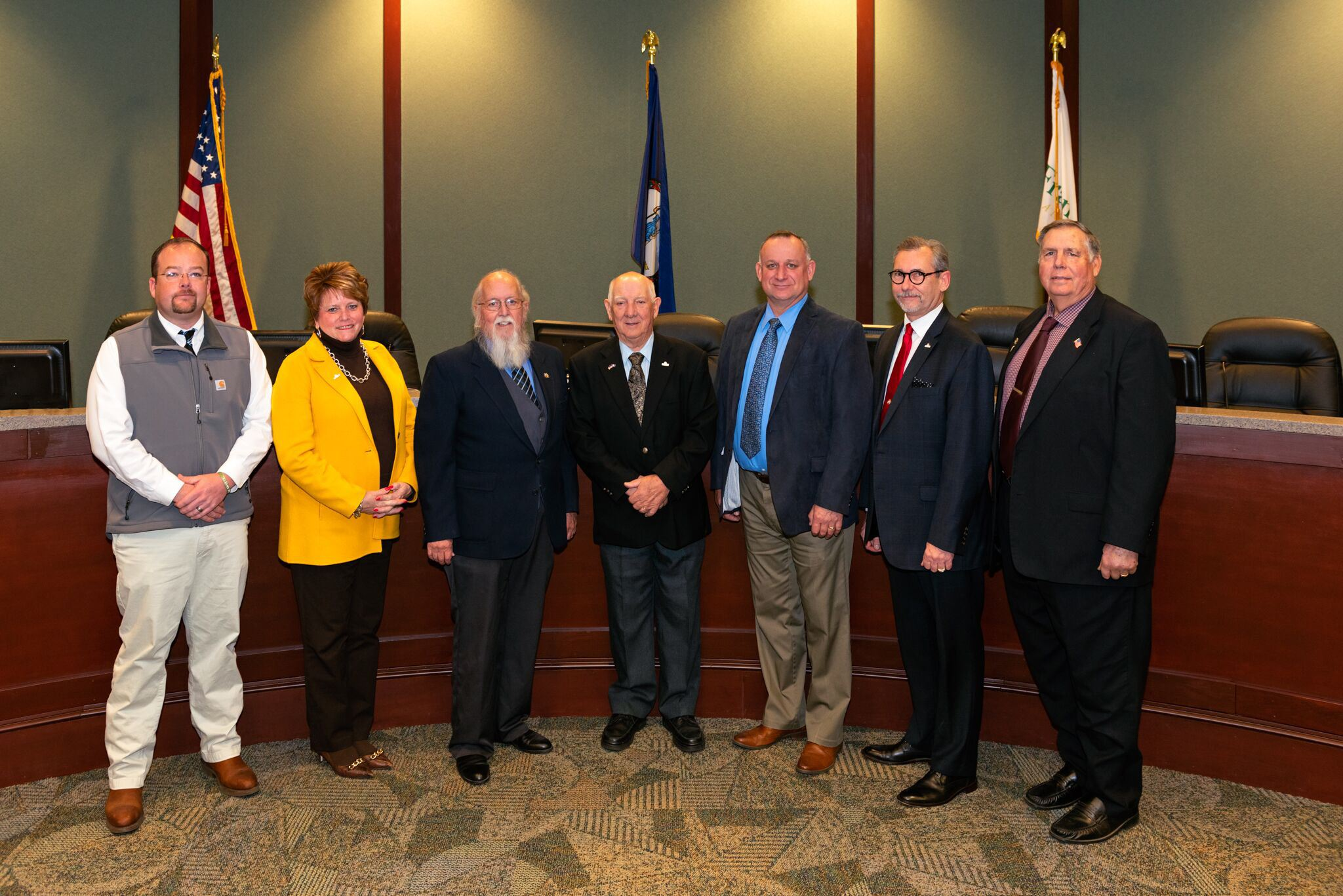 2020 Board of Supervisor Members